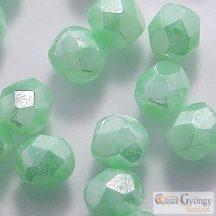 Luster Opaque Azur Turquoise - 40 db - 4 mm csiszolt gyöngy (L54200A)