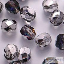Crystal Helotrope - 20 db - 6 mm csiszolt gyöngy (H00030)