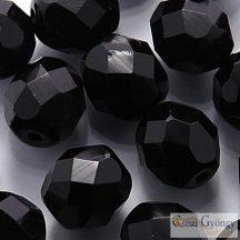 C. Metallic Antique Platium - 20 db - 8 mm csiszolt gyöngy (18549CR)