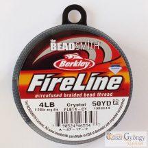 """FireLine Crystal - 1 tekercs - 4 LB, átmérő: 0,005"""", hossza 50 yard (kb. 45.7 méter)"""