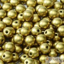 Matte Met. Olivine - 50 db - golyó gyöngy 3 mm (29418)