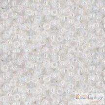 Transparent Rainbow Crystal - 10 g - 11/0 Toho japán kásagyöngy (161)