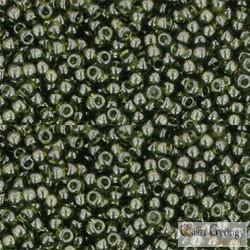 Transparent Olivine - 10 g - 11/0 Toho japán kásagyöngy (940)