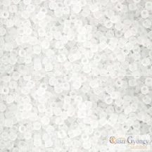 Transparent Frosted Crystal - 5 g - 15/0 Toho kásagyöngy (1F)