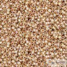Gold Lined Rainbow Crystal - 5 g - Toho japán kásagyöngy 15/0 (994)