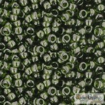 Transparent Olivine - 10 g - 8/0 Toho japán kásagyöngy (940)