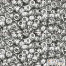 Transp. Luster Black Diamond - 10 g - 8/0 Toho japán kásagyöngy  (112)