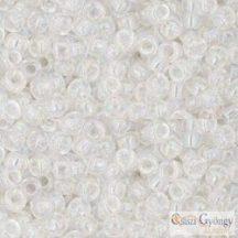 Transp. Rainbow Crystal - 10 g - 8/0 Toho japán kásagyöngy (161)