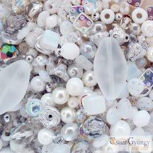White Crystal - 20 g - cseh, üveg gyöngymix