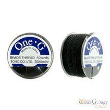 Toho OneG Black - 1 db - fekete színű, 50 yard (kb. 45 méter)