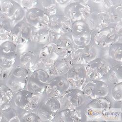 Transparent Crystal - 10 g - SuperDuo 2.5x5 mm (00030)
