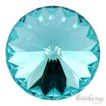 Light Turquoise - 1 db - Swarovski Rivoli 14 mm (1122)