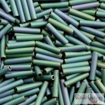 Matte Color Iris Teal - 10 g - Toho japán szalmagyöngy 9 mm (706)
