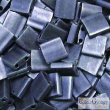 Matte Met. Blue Grey - 5 g - Tila gyöngy 5x5x1.9 mm (2001)