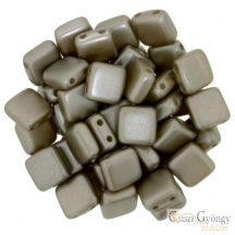 Pearl Coated Brown Sugar - 20 db - Tile gyöngy, mérete: 6x6mm (25005AL)